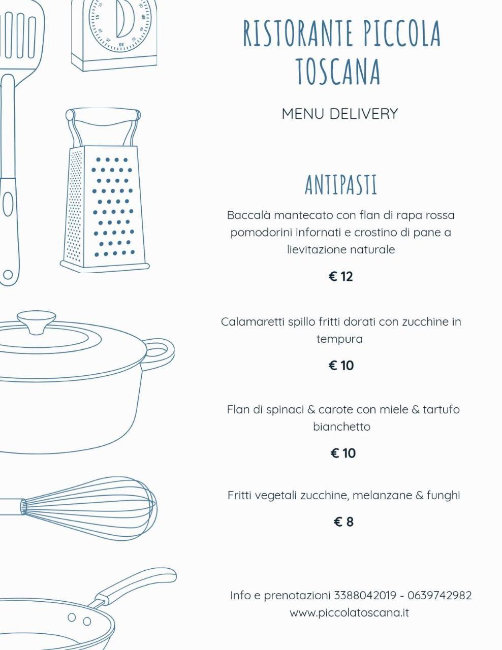 antipasti menu delivery